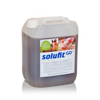 solufit GD - Kompostextrakt für die Stallhygiene, für Trockentoiletten und zur Mistaufbereitung